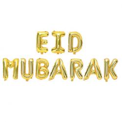 Banderole Eid Guirlande à Fanions Dorés