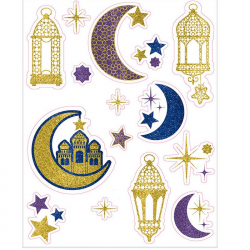 Décoration Vitres pour Eid - Fête Musulmane