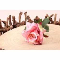 Rose Fleur Artificielle Premium sur Tige
