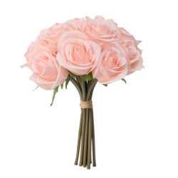 Gros bouquet de roses Fleurs Artificielles Premium