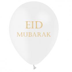 Ballons Latex Eid Mubarak - Premium