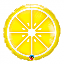 Ballon Alu Citron Summer Party