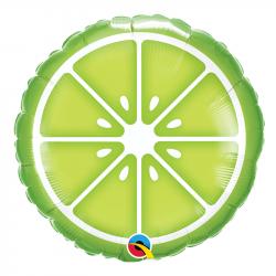 Ballon Alu Kiwi Vert Fruit Summer Party