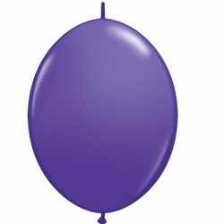 50 Ballons A Queue Pour Arche - Violet Décoration de fête