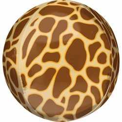 Ballon Miroir Jungle Girafe