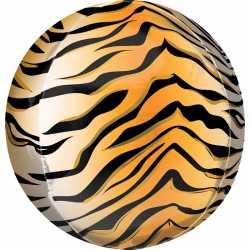 Ballon Miroir Tigre - Ballon Orb Décoration Jungle Safari tiger
