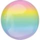 Ballon Miroir Premium Arc-en-ciel - Orb Ombré Décoration