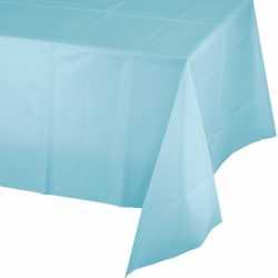 Nappe Plastique Bleu Pastel Lavable