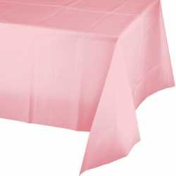 Nappe Plastique Rose Pastel Lavable