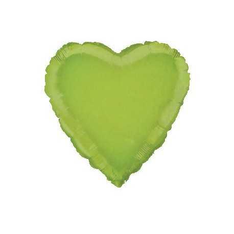 Ballon Coeur Vert