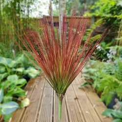 Bouquet de feuilles herbes vert / marron