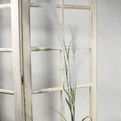 Bouquet 5 tiges de pampas beige ivoire - Herbe artificielle
