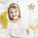 5 Diadèmes Tiaras Glitter Princesse Diadème Rose et Argent