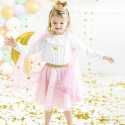Jupe Tulle Anniversaire Rose Poudré Etoiles dorées