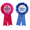 Badge Cocarde Anniversaire Birthday Girl Rose