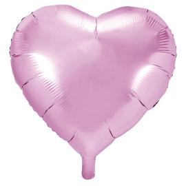 Ballon XL Coeur Rose Clair