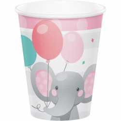 Grandes Gobelets Elephant Rose Pastel