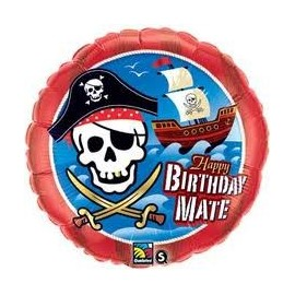 Ballon Alu Anniversaire Pirate