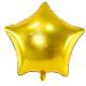 Ballon Etoile Doré Or Brillant
