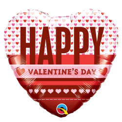Ballon Happy Valentine'es Day - Déco Saint Valentin