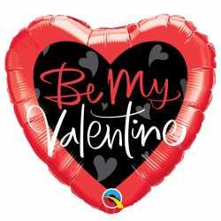 Ballon Veux Tu Etre Mon Valentin / Ma Valentine - Be my valentine