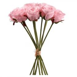 Beau bouquet de roses Fleurs Artificielles Premium