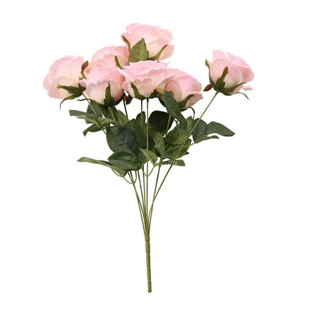 Beau bouquet 7 roses Fleurs Artificielles Premium