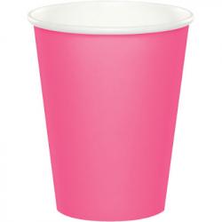 Gobelets Premium Rose - Vaisselle jetable en papier