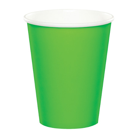 Gobelets Papier Premium Vert Anis