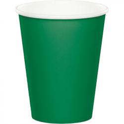 Gobelets premium vert foncé