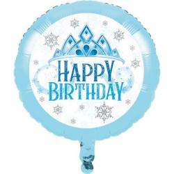 Ballon Baguette Reine des Neiges Disney pour Anniversaire et Fête Elsa et Anna