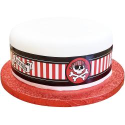 Contour à Gâteaux - Décoration Gâteau Anniversaire Pirate