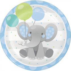 Centre de table en Papier Elephant Pastel