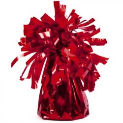 Sac Contrepoids Pour Ballon Hélium Rouge Scintillant