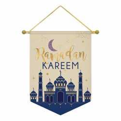 Drapeau Tissu Ramadan Kareem
