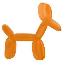 100 Ballons à Sculpter Orange - MAXI pack - Accessoires pro