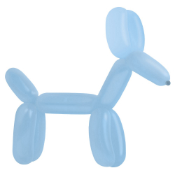 100 Ballons à Sculpter Bleu Clair - Accessoires pro