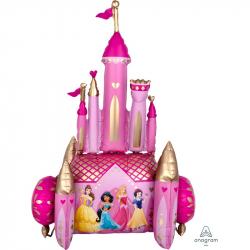 Chateau Géant Belle Princesse Disney XXL