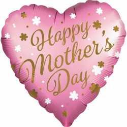 Ballon Fête des mères - Marbre parme