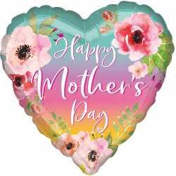 Ballon Coeur XL Fête des mères