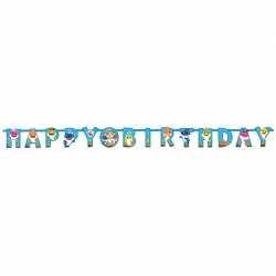 Banderole Happy Birthday - Anniversaire Baby Shark
