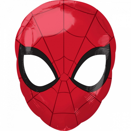 Ballon Hélium Géant Effet 3D Spiderman Anniversaire