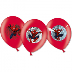6 Guirlandes à suspendre Spiderman Anniversaire