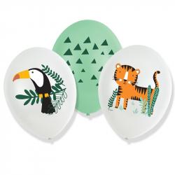 Ballon Alu Happy Birthday Safari Anniversaire