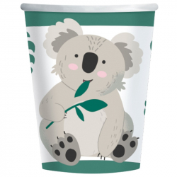 Gobelets en papier Koala Anniversaire à thème