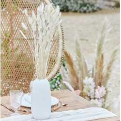 Bouquet de plumeaux naturels - Fleurs séchées bohème chic