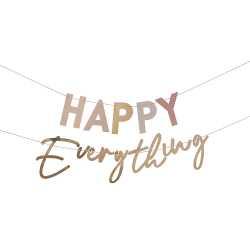 Banderole Happy Everything Arc-en-Ciel Bohème