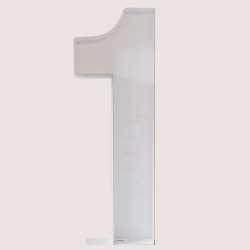 Structure Chiffre 100cm