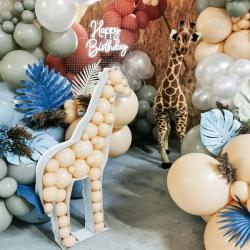 Structure Girafe XL à garnir de ballons