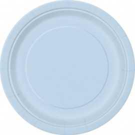 Petites Assiettes Papier Bleu